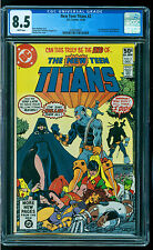 CGC 8.5 NEW TEEN TITANS #2 WHITE PAGES DC COMICS 1980 1ST APPEARANCE DEATHSTROKE