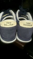 Men Used Blue New Balance Sneakers Size 8.5