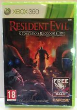 RESIDENT EVIL OPERATION RACCOON CITY XBOX 360 - ITALIANO SIGILLATO - X-Box X Box
