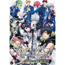 B-Project: Kodou Ambitious (TV 1 - 12 End) DVD + EXTRA DVD