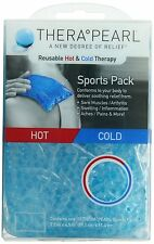 "TheraPearl Sports Pack, Reusable Hot Cold Therapy Pack with Gel Beads, 7.5""x4.5"""