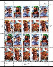 US - Sheet of 20  - Sc #3083-86 - Folk Hero Legends - MNH