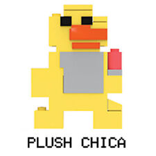 McFarlane Toys Five Nights at Freddy's - 8-Bit Buildable Figure S2 - PLUSH CHICA