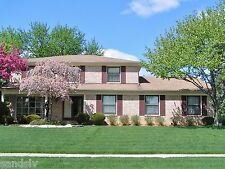 House For Sale Troy Mi. Sylvan Glen Sub Custom Built Corner Colonial Furnished