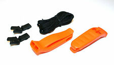 2x  ITW  NEXUS NATO & SOLAS Approved Emergency Distress Whistle. Survival, SAR