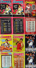 12 X  ROY CHUBBY BROWN TOUR FLYERS INCLUDING 2016 TOUR ETC