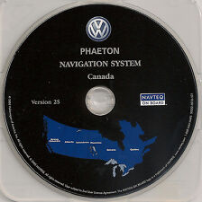 2004 2005 2006 Volkswagen Phaeton Navigation CD Map Version 2S Cover Canada Map