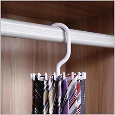 Ipow 360 Degree Rotating Twirl Tie Rack Adjustable Tie Belt Hanger Holder Hook H