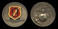Challenge Coin - USMC 9th Marine Regiment