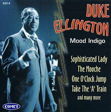"DUKE ELLINGTON ""Mood Indigo"" Jazz CD 15 Tracks NEU & OVP Comet 1997"