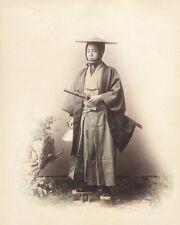 SAMURAI WARRIOR BY FELICE A BEATO 8X10 PHOTO PICTURE PRINT 0158