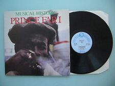 Prince Far I - Musical History, UK 1983, LP, Vinyl: vg+