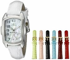Invicta Women's 0051 Lupah Analog Display Swiss Quartz White Watch