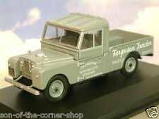 "OXFORD 1/43 LAND ROVER SERIES I 1 109"" OPEN FERGUSON TRACTORS IN GREY LAN1109008"