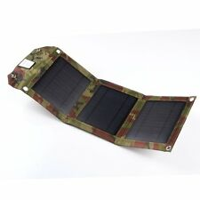 7W Foldable Solar Panel Power Battery Charging Bag for Cell phone GPS Camera PDA