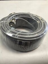 75FT RG-8x COAX COAXIAL LOW LOSS CABLE w/ MALE PL-259 CB HAM RADIO RG8 NEW!