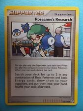 ROSEANNE'S RESEARCH - SUPPORTER -  Collectable Pokemon Trading Card PCG TCG