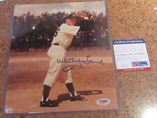 Whitey Ford Autographed 8x10 Photo NY Yankees PSA Certified