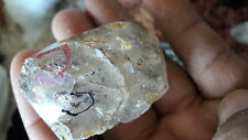 AAA+++ Quality Natural Herkimer Diamond with water inclusion very rare