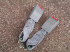 VAUXHALL OMEGA SALOON CENTRE REAR SEAT BELT ANCHORS CLASPS / MIDDLE BACK Silver