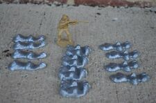 Marx Rocks Rockpiles Boulders Toy Soldier Gaming Diorama Plastic