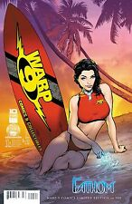 MICHAEL TURNER'S FATHOM #1 WARP 9 COMICS EXCLUSIVE VARIANT COVER! 300 MADE!