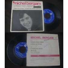 MICHEL BERGAM - Chanson Pour L'Absent French EP Sixties Pop 67