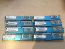 32GB 8x 4GB PC2-5300F DDR2 667MHz  ECC server RAM - 398708-061 / 466436-061 G5