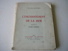 F Roussel-Despierres L'Enchantement de la Mer illustrations A Bourdelle 1923