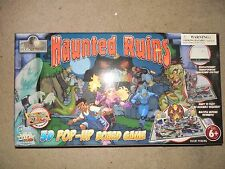 HAUNTED RUINS 3D POP-UP BOARD GAME USED RELIC RAIDERS