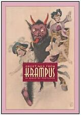 Greetings from Krampus: 24 Assorted Postcards by Monte Beauchamp (2015,...
