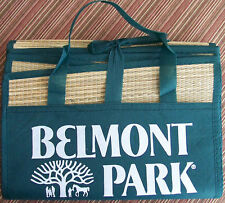 BELMONT PARK  RACE TRACK / RACE COURSE Bamboo Fold-Out Beach Mat - NEW / UNUSED