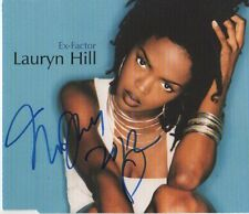 "Lauryn Hill ""The Fugees"" Autogramm signed CD-Cover ""Ex-Factor"""