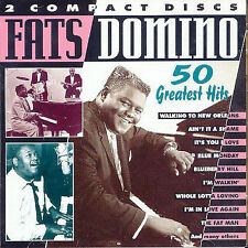 50 GREATEST HITS - USED - LIKE NEW CD Fats Domino Great Case Mint Disc
