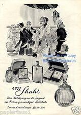 4711 Shahi XL Reklame von 1953 Parfümerie 50er Mode Damen Parfum Parfumerie ad