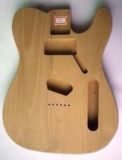 EDEN Wood Body for Tele Guitar Natural Alder Hardtail