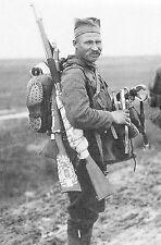 WW1 - Guerre 14/18 - Soldat serbe sur le front d'Orient