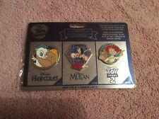 DISNEY STORE 30TH ANNIVERSARY PIN SET WEEK 4 LIMITED EDITION BRAND NEW UNOPENED