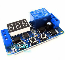 12V LED Home Automation Delay Timer Control Switch Relay Module Digital