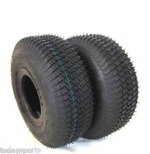 2 13X5.00-6 TURF LAWN MOWER TIRES HEAVY DUTY 4 PLY TWO NEW TIRES 13 500 6