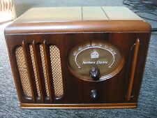 Rare VIntage Northern Electric Tube Radio #422A - Professionally Restored