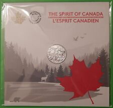 2017 Canada $3 Fine Silver Spirit of Our Nation Coin Sealed in Collector Card
