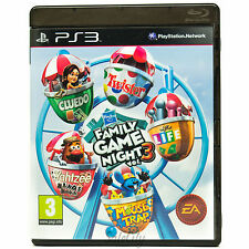 Hasbro Family Game Night: Vol 3 (PS3) Kids Boys Childrens Family Game Complete