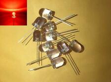 -- (10 pieces) 10mm Red blinking LED light diode flashing bulb