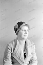 Negativ-Portrait-Frau-Hut-Cute-German-Woman-Girl-Lady-Hat-1930er Jahre-1930s-4