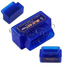 New Mini ELM327 V2.1 OBD2 II Bluetooth Diagnostic Car Auto Interface Scanner