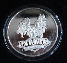 2001 Official Iditarod Proof Medallion