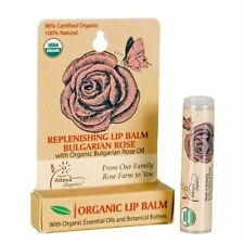 Alteya Organics Bulgarian Rose Lip Balm - USDA Certified Organic, Award-Winning