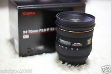 NEW Sigma 24-70mm F2.8 IF EX DG HSM (24-70 mm F/2.8) Lens for Nikon*Offer