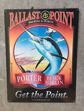 Ballast Point Black Marlin Porter Fish Craft Beer Brewery Vintage Ad Metal Sign